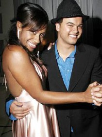 Guy Sebastian and Paulini
