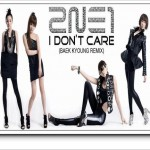 I Don't Care (Baek Kyoung Remix)详情