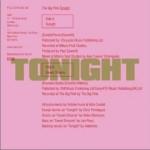 Tonight (Single)详情