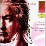 Historic Recordings - Beethoven Complete Edition Vol.20, Disc 1