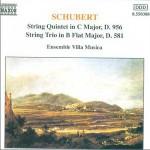 Schubert - String Quintet & Trio (8.550388)