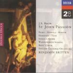 Benjamin Britten (1972) - St. John Passion (cd2) - in englisch