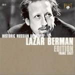贝尔曼:世纪精选 Lazar Berman Edition CD2详情