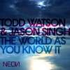 Todd Watson & Jason Singh The World As You Know It (Luke Chable's Size 9 Mix) 试听