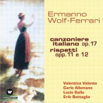 Canzoniere Italiano Op. 17- Rispetti Opp. 11 E 12详情