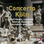 Concerto Köln plays Dall'Abaco, Locatelli, Vanhal, Kozeluch and Eberl详情