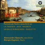 Verdi: Fantasie Per Flauto E Pianoforte详情