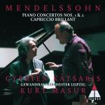 Mendelssohn : Piano Concertos Nos 1, 2 & Capriccio brillant详情