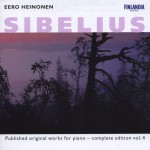 Sibelius : Published Original Works for Piano - Complete Edition Vol. 4详情