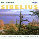 Sibelius : Published Original Works for Piano - Complete Edition Vol. 3详情