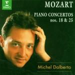 Mozart : Piano Concertos Nos 18 & 25详情
