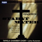 Penderecki Stabat Mater - Compl Sacred Works for Chorus A Cap详情