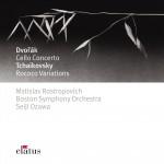 Dvorák : Cello Concerto & Tchaikovsky : Rococo Variations - Elatus详情