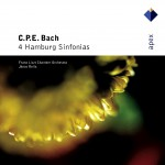 Bach, CPE : 4 Hamburg Sinfonias - Apex详情