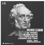 Mendelssohn : Symphonies Nos 1 - 5, Piano Concertos Nos 1, 2 & A Midsummer Night详情