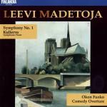 Madetoja : Symphony No.1 Op.29, Kullervo Op.15, Okon Fuoko Op.58, Comedy Overtur详情