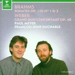 Brahms : Clarinet Sonatas & Weber : Grand duo concertant详情