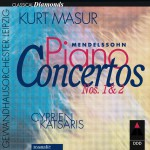Mendelssohn : Piano Concertos Nos 1, 2 & Concerto for Piano & Strings详情