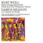 Kurt Weill: Kleine Dreigroschenmusik/ Milhaud, Darius: La Création du Monde详情
