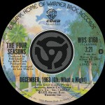 December, 1963 [Oh What A Night] / Slip Away [Digital 45]详情