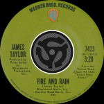 Fire And Rain / Anywhere Like Heaven [Digital 45]详情