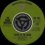Listen To The Music / Toulouse Street [Digital 45]详情