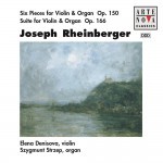 Rheinberger: 6 Pieces For Violin & Organ/Suite For Violin & Organ详情