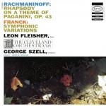 Rachmaninoff: Rhapsody On A Theme Of Paganini, Op. 43; Franck: Symphonic Variati详情