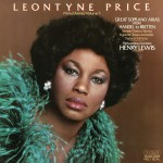 Leontyne Price - Prima Donna Vol. 5: Great Soprano Arias from Handel to Britten详情