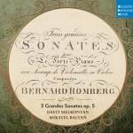 B. Romberg: Sonaten für Hammerklavier und Cello op. 5详情