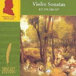 Volume 4(CD11) Violin Sonatas KV 379-380-547试听