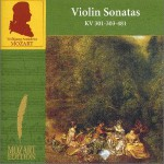 Volume 4(CD13) Violin Sonatas KV 301-303-481试听