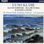 Klami : All'ouverture, Sea Pictures, Kalevala Suite详情