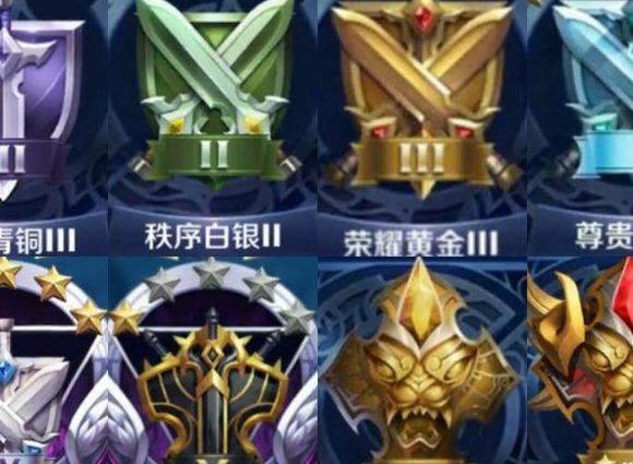 王者荣耀S25赛季段位怎么继承 王者荣耀S25段位继承表一览